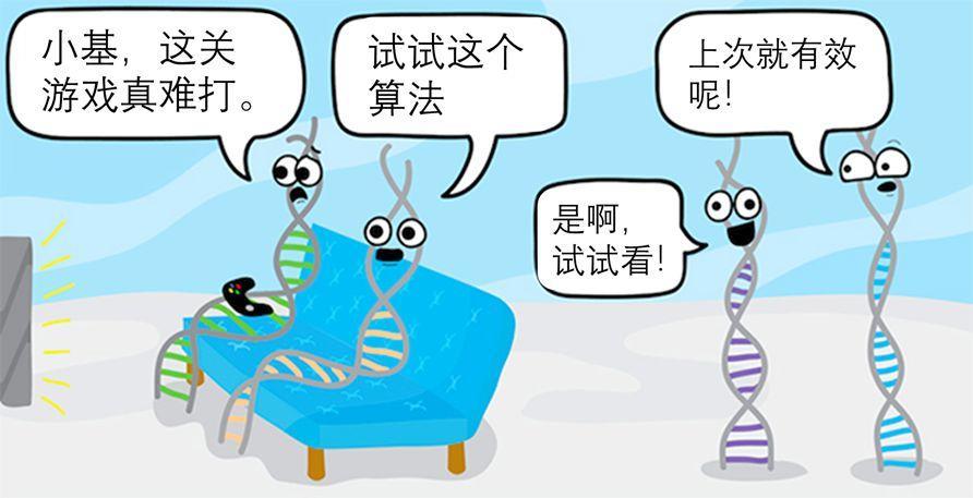 进化新视角:基因之间的重复博弈如何影响生物进化?-集智俱乐部