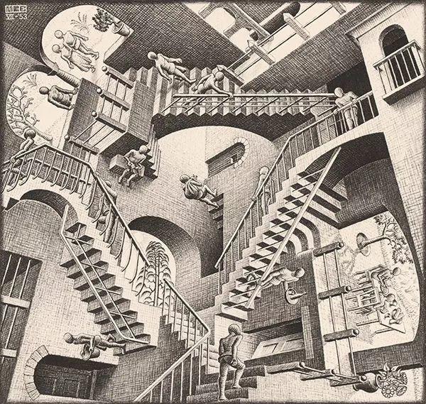 埃舍尔画作中的数学秘密-集智俱乐部